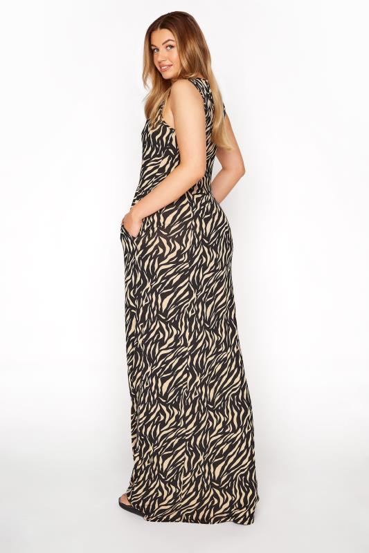LTS Black Zebra Print Maxi Dress_C.jpg