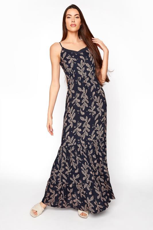 LTS Navy Lace Trim Cami Top Dress_A.jpg