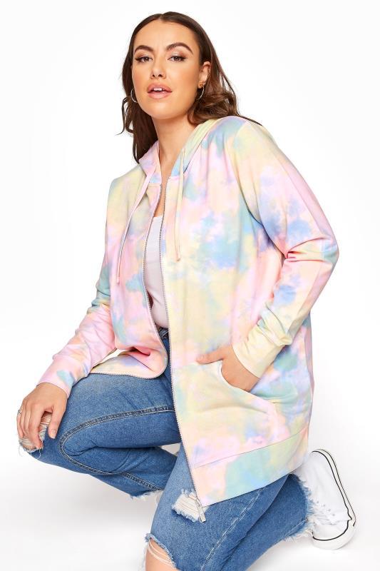 Multi Pastel Tie Dye Zip Hoodie_A.jpg