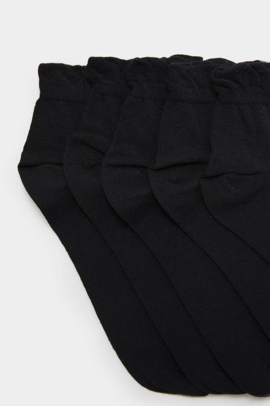 5 PACK Black Trainer Liner Socks_D.jpg