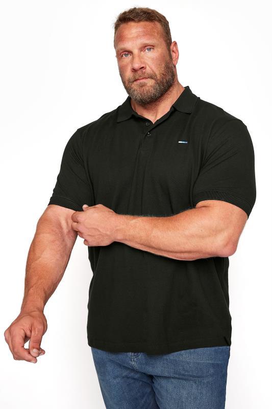 Men's  BadRhino Black Essential Polo Shirt