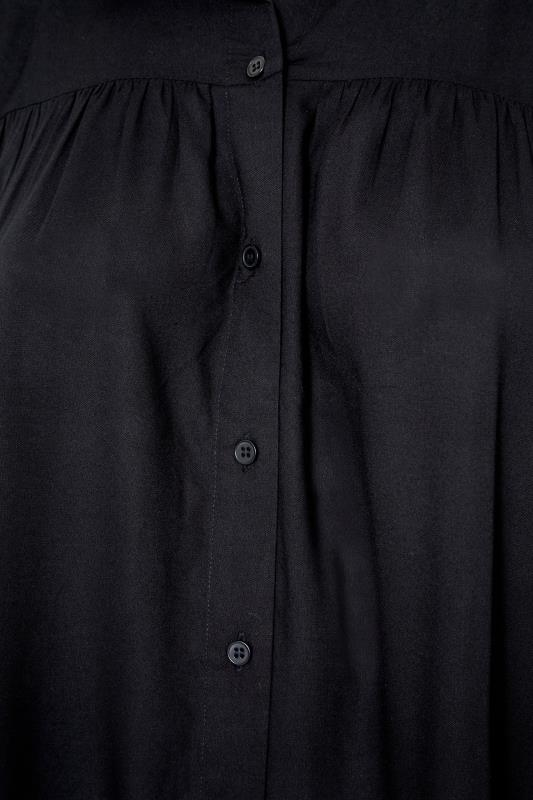 Black Smock Tiered Tunic Blouse_S.jpg