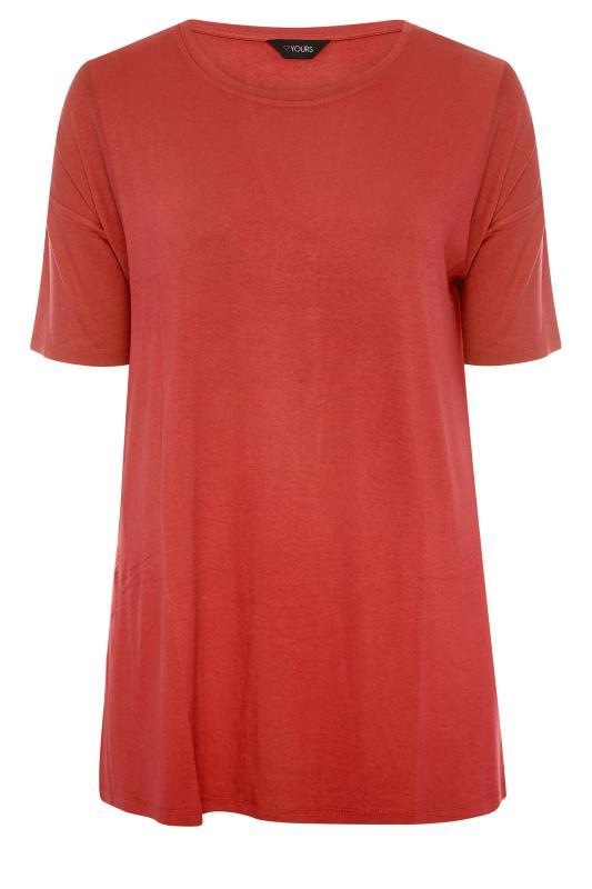 Rust Oversized Jersey T-Shirt_F.jpg