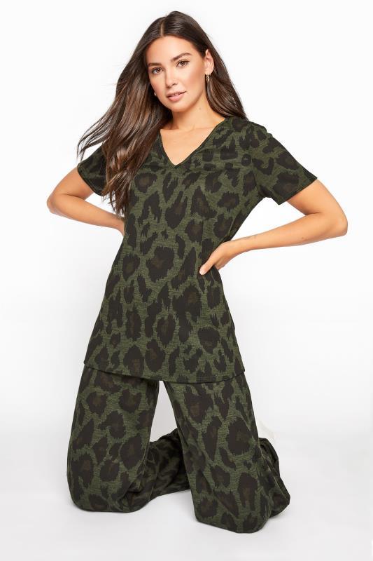 LTS Khaki Leopard Print Lounge Top_A.jpg