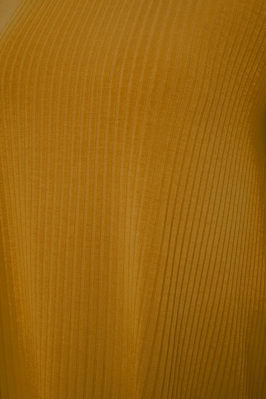 LTS Mustard Yellow Swing Ribbed T-Shirt_S.jpg