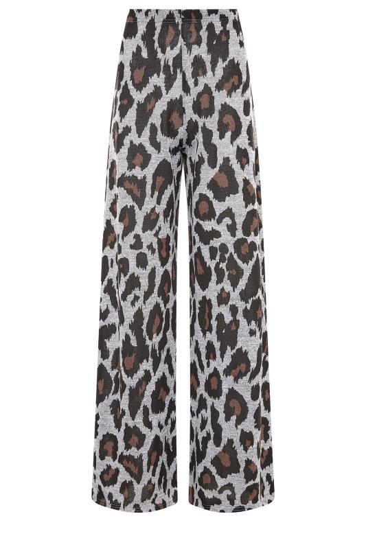 LTS Grey Leopard Print Lounge Trousers_F.jpg