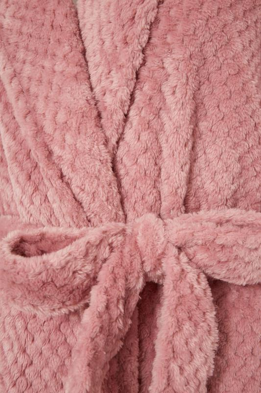 LTS Pink Waffle Hooded Dressing Gown_S.jpg