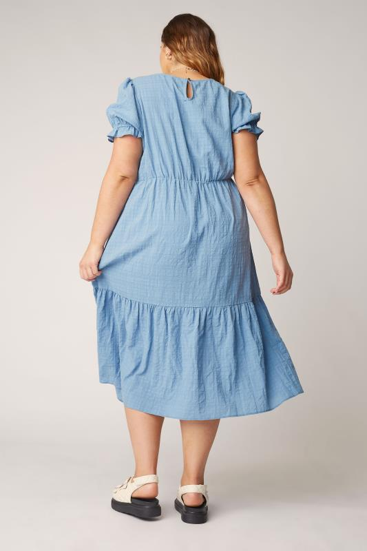 THE LIMITED EDIT Blue Smock Midi Dress_C.jpg