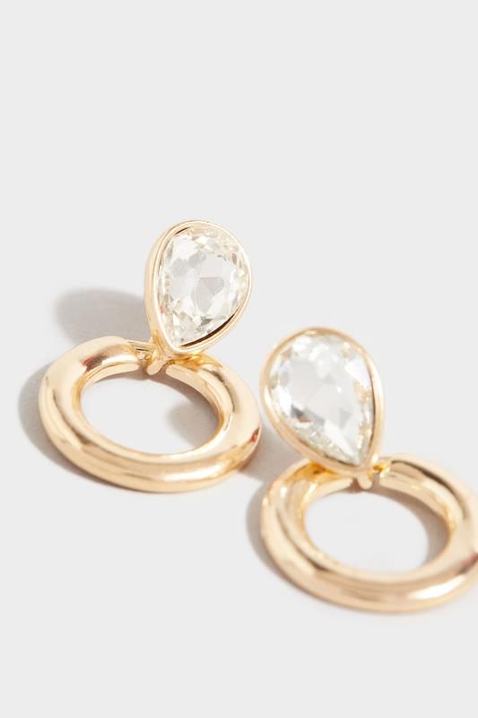 Gold Oval Diamante Hoop Earrings_D.jpg