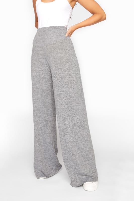 LTS Grey Wide Leg Lounge Pants
