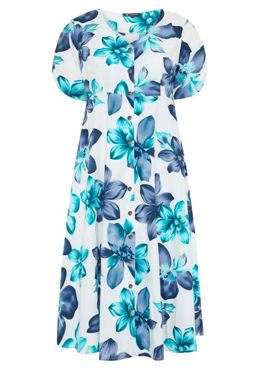 LIMITED COLLECTION White Floral Midi Dress_f.jpg