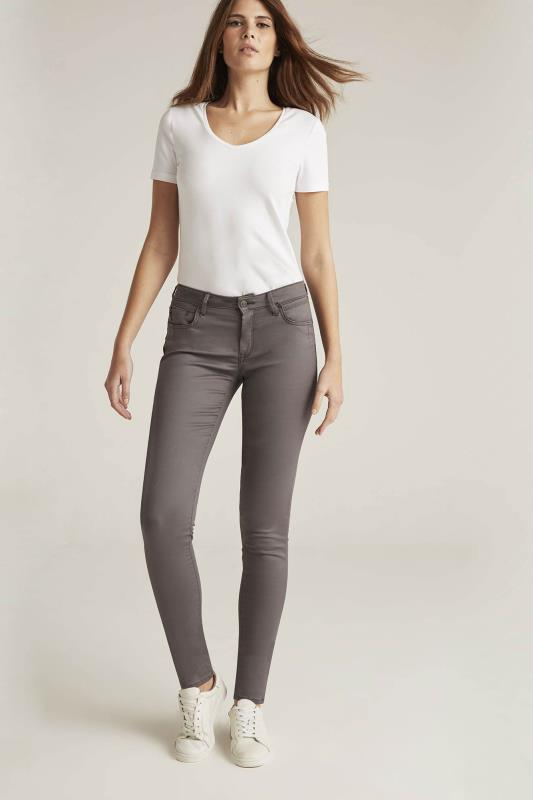 MAVI Charcoal Adriana Skinny Jean