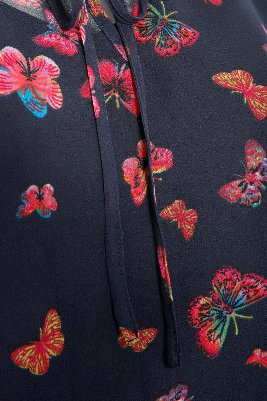 Navy Butterfly Blouse_S.jpg