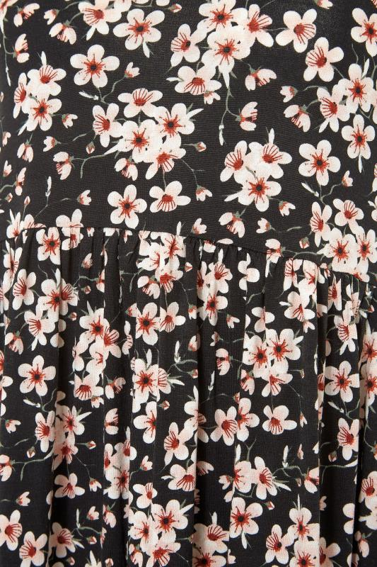 LTS Black Floral Print Jersey Midi Dress_S.jpg