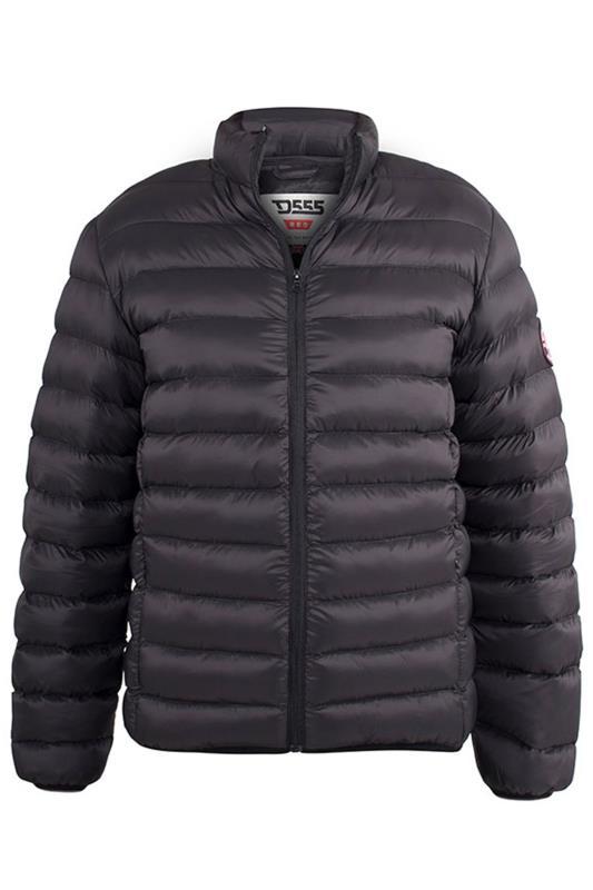 Plus Size Coats D555 Black Paxton Puffer Jacket