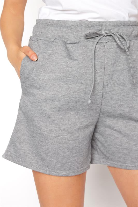 LTS Grey Marl Jersey Sweat Shorts_D.jpg