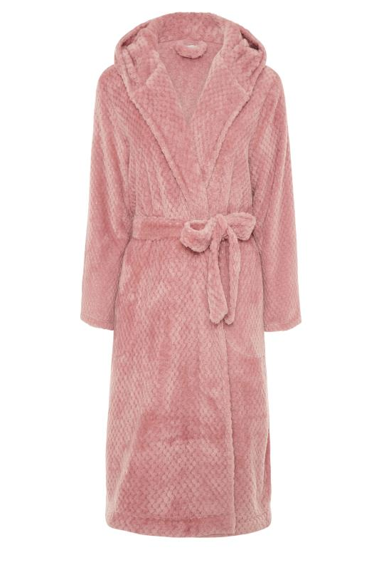 LTS Pink Waffle Hooded Dressing Gown_F.jpg