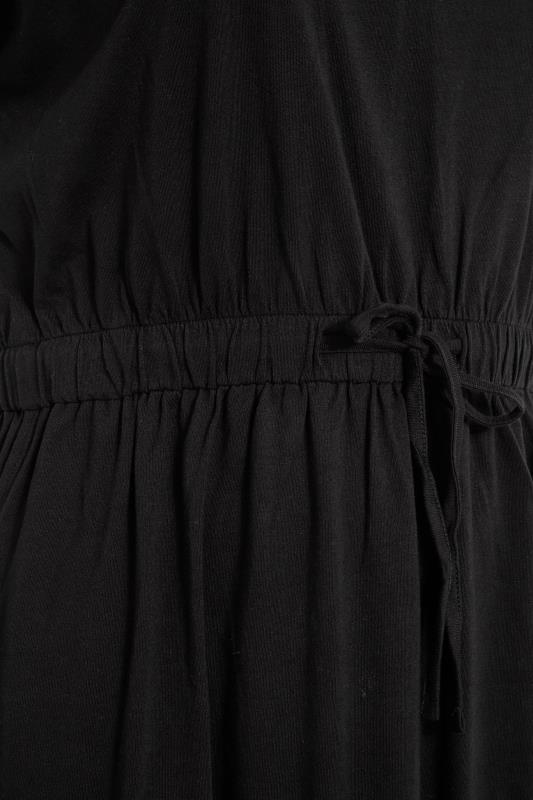 Black Jersey T-Shirt Mini Dress_D.jpg