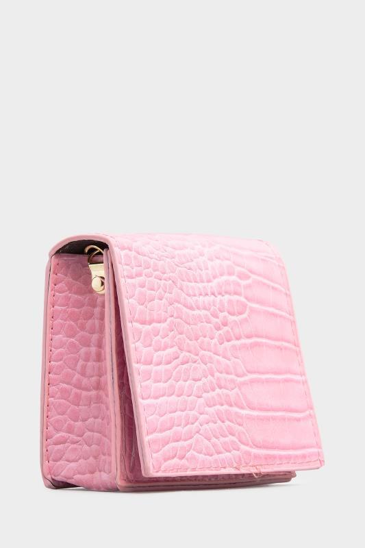 Hot Pink Croc Chain Crossbody Bag_C.jpg