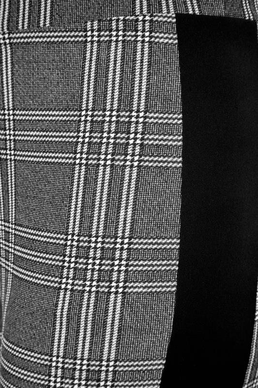 Black and White Side Stripe Scuba Trousers_S.jpg