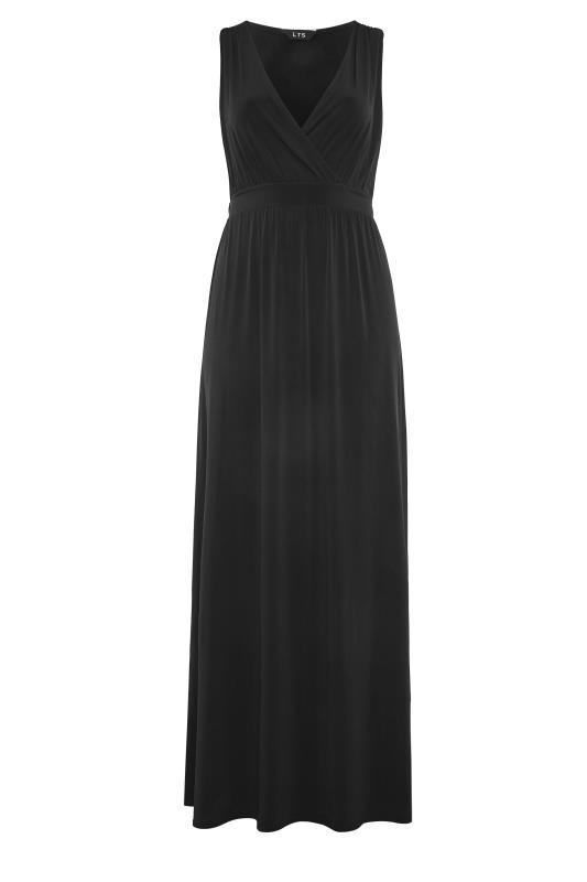 LTS Black V-Neck Maxi Dress_F.jpg