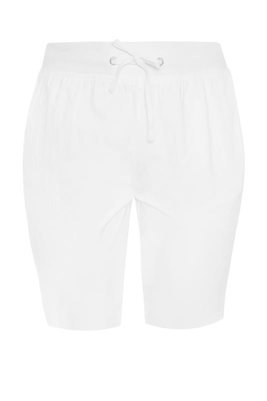 White Cool Cotton Shorts_F.jpg