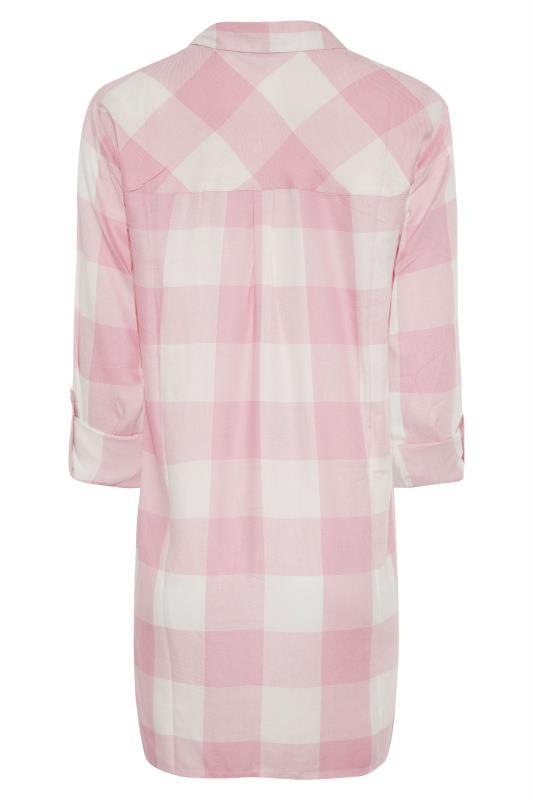 LTS Pink Check Boyfriend Shirt_BK.jpg