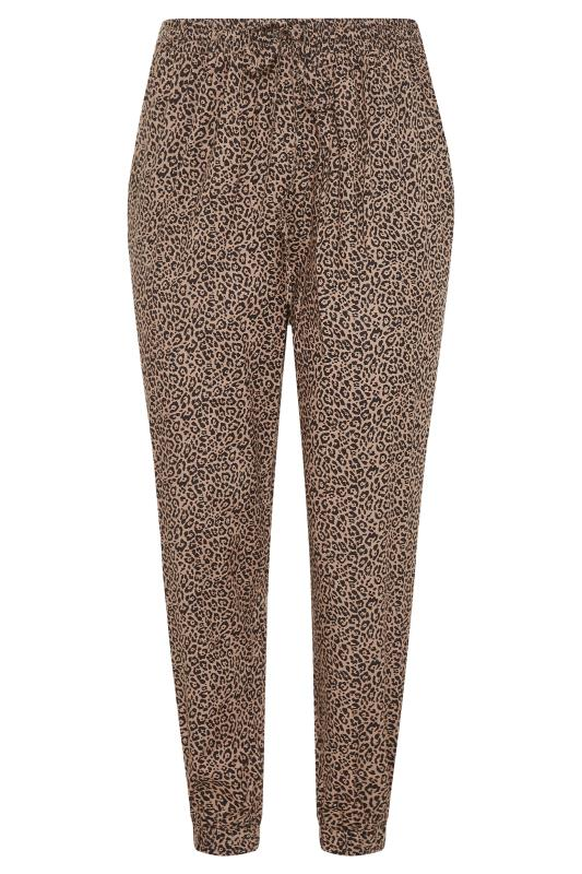 Leopard Tie Waist Harem Trousers_F.jpg
