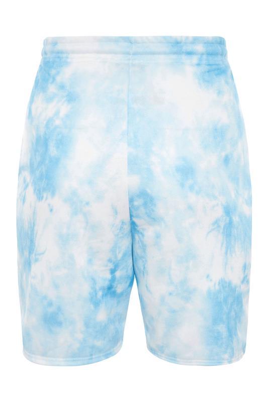 Blue Tie Dye Sweat Shorts_bk.jpg