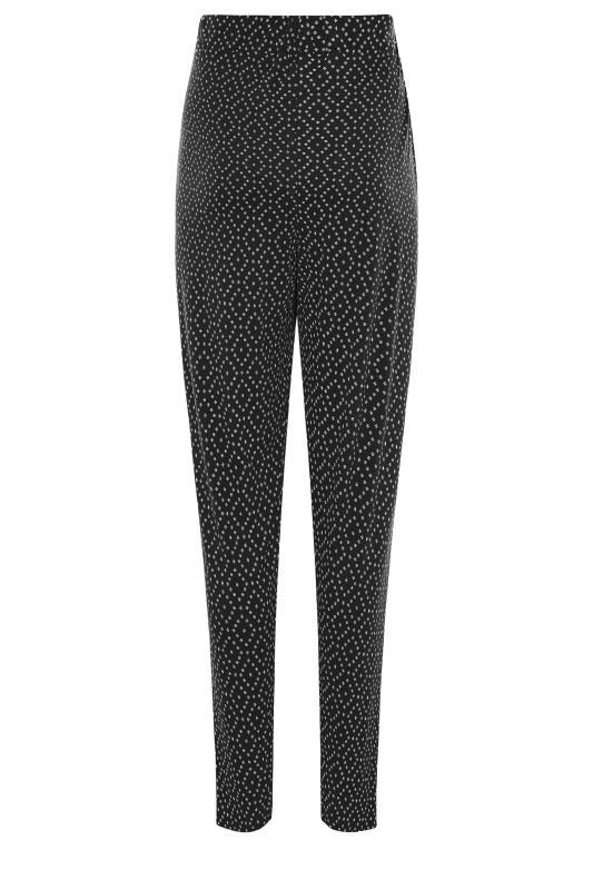 LTS Black Printed Harem Trouser_BK.jpg