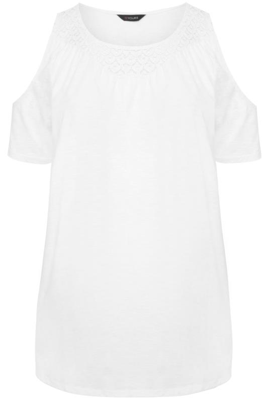 White Cold Shoulder Crochet Lace Top_F.jpg
