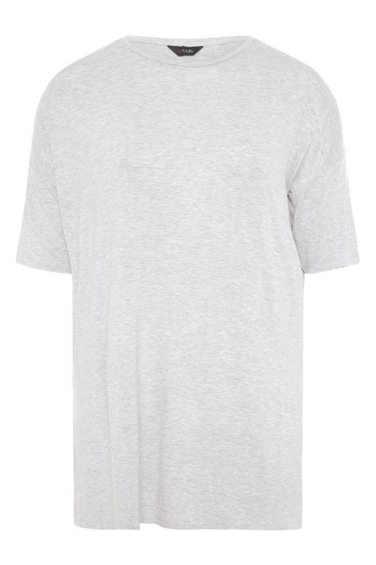 Grey Marl Oversized T-Shirt_F.jpg