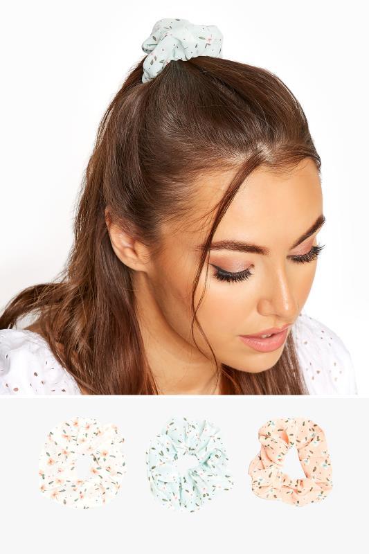 3 PACK Pastel Multi Floral Scrunchie Set_split.jpg