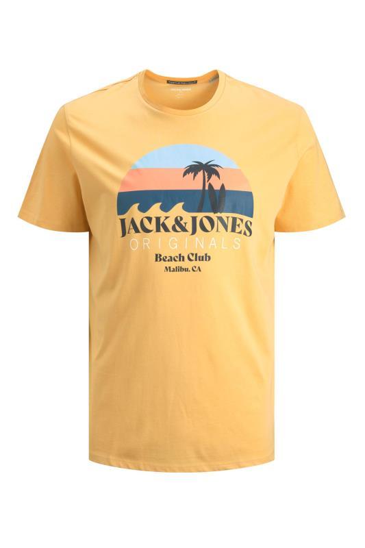 Tallas Grandes JACK & JONES Yellow Jorcabana T-Shirt