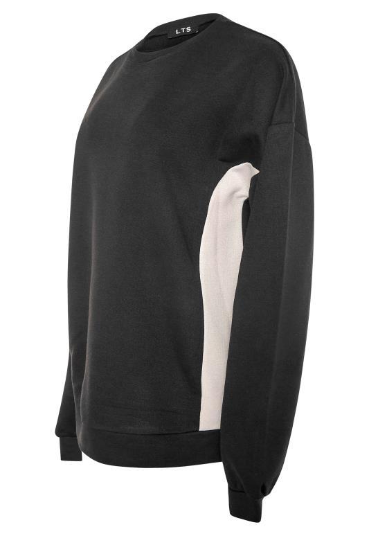LTS Black Colour Block Sweatshirt_side.jpg