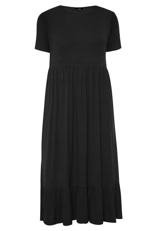 LTS Black Tiered Maxi Dress_F.jpg