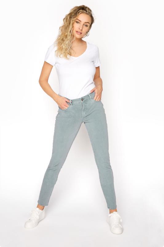 Tall Jeans SILVER JEANS Sage Elyse Super Skinny Jean