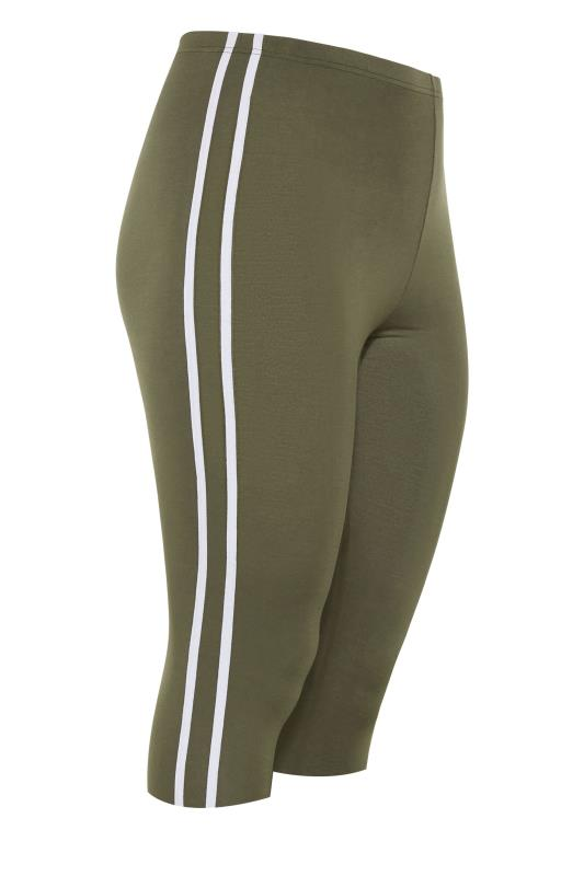 Khaki Side Stripe Cropped Leggings_f.jpg