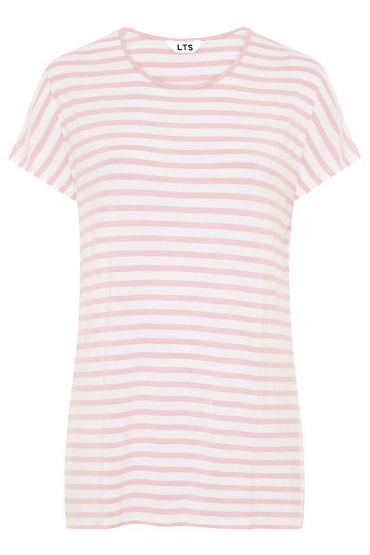 LTS Pink Stripe Soft Touch T-Shirt_F.jpg