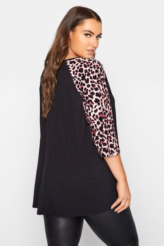 LIMITED COLLECTION Black Leopard Print Top_C.jpg