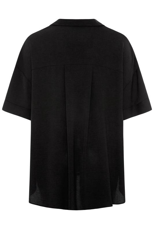 THE LIMITED EDIT Black Pleated Front Top_BK.jpg