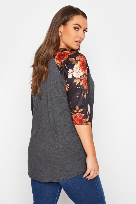 LIMITED COLLECTION Charcoal Floral Top_C.jpg