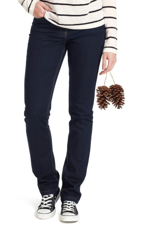 Dark Indigo Richmond Straight Cut Jeans