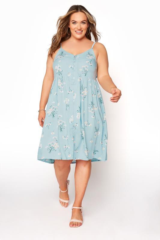 Blue Floral Button Front Cami Dress_A.jpg