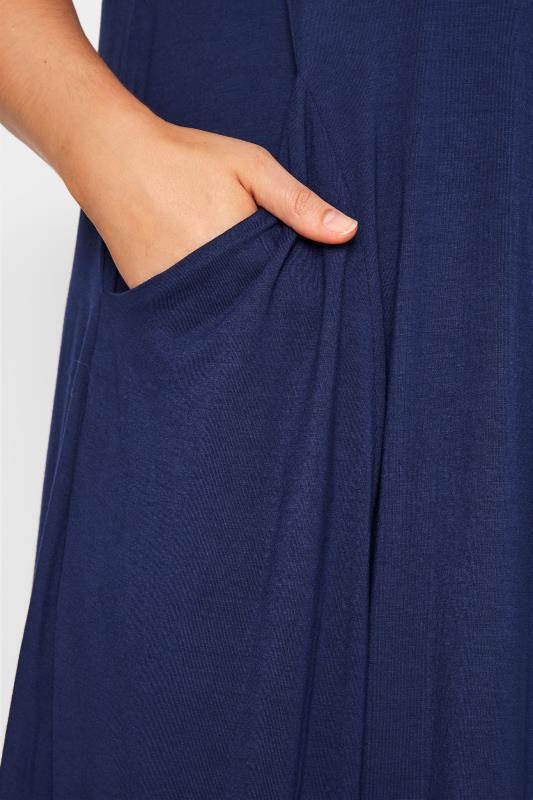 Navy Drape Pocket Midi Dress_D.jpg
