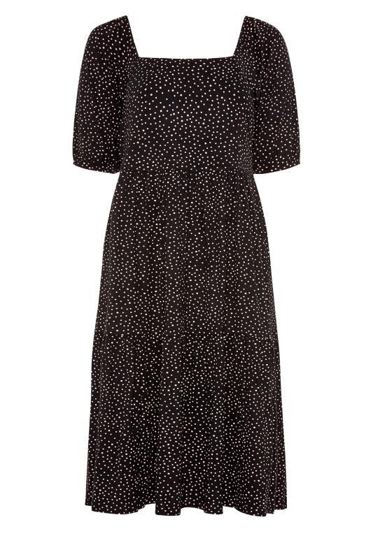 Black Polka Dot Square Neck Midaxi Dress_F.jpg