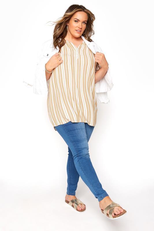Yellow Stripe Raglan Sleeve Shirt_B.jpg
