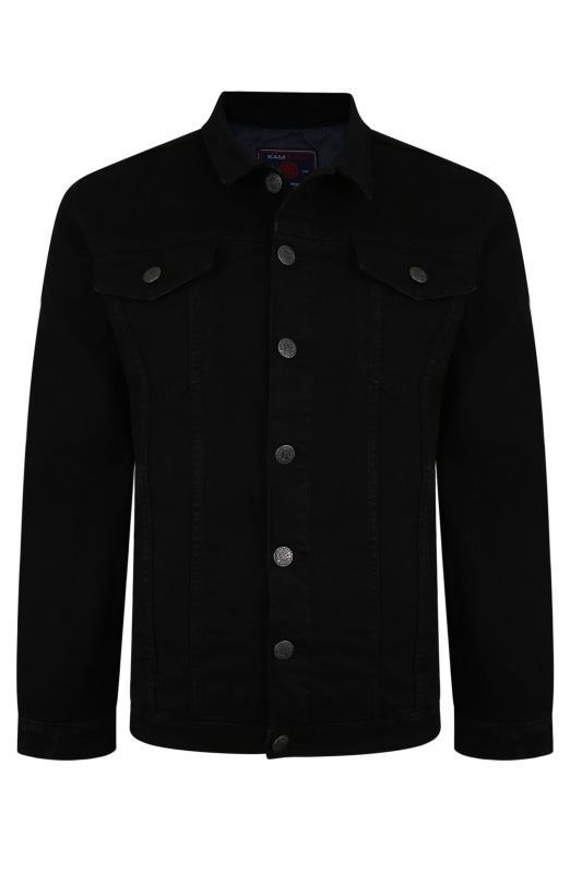 Men's  KAM Black Denim Jacket