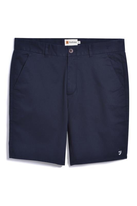Men's  FARAH Navy Chino Short