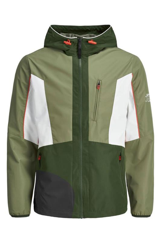Grande Taille JACK & JONES Green Carson Light Jacket